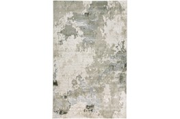 34X94 Rug-Contemporary Ivory/Grey