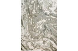 120X158 Rug-Marble Swirl Light Grey