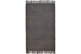 42X66 Rug-Textured Boho Slate/Grey