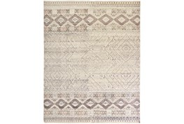 """7'8""""x9'8"""" Rug-Hand Knotted Wool Blush/Ivory"""