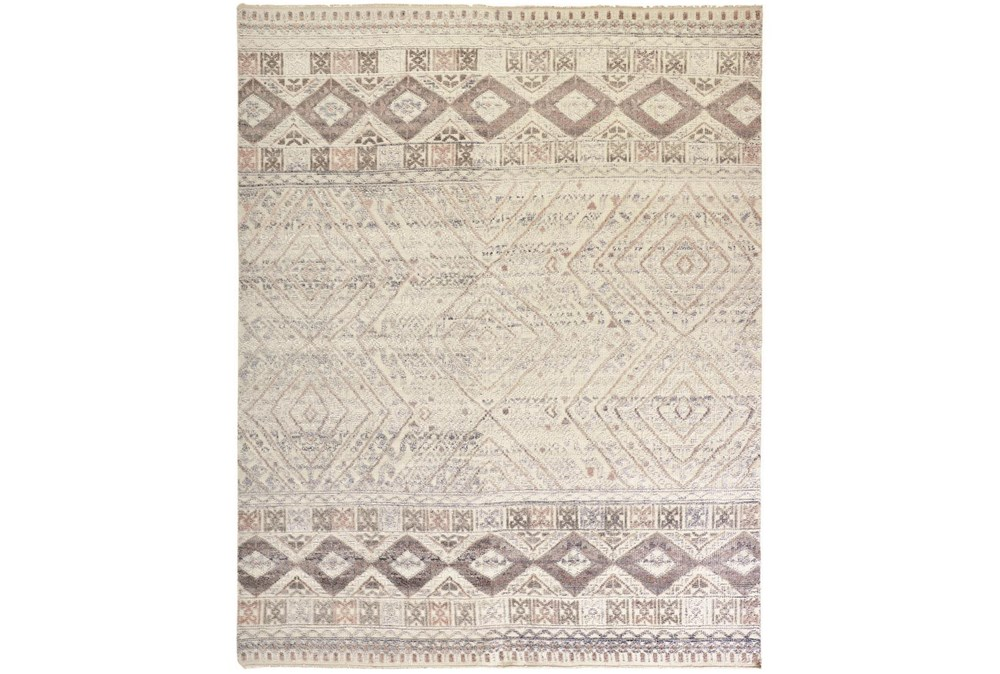 """8'5""""x11'5"""" Rug-Hand Knotted Wool Blush/Ivory"""