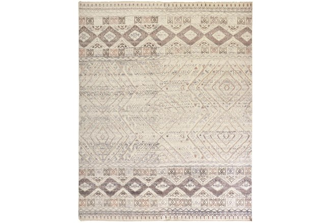 """8'5""""x11'5"""" Rug-Hand Knotted Wool Blush/Ivory - 360"""