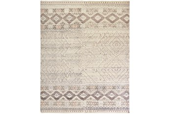 """9'5""""x13'5"""" Rug-Hand Knotted Wool Blush/Ivory"""