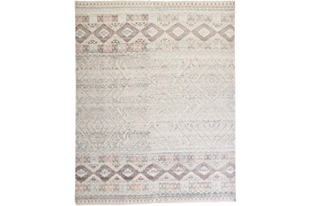 138X180 Rug-Hand Knotted Wool Blush/Ivory