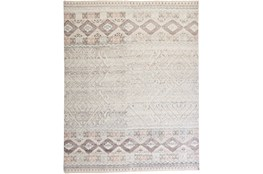 30X120 Rug-Hand Knotted Wool Blush/Ivory