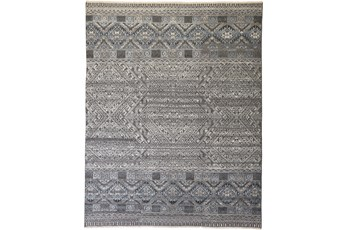 42X66 Rug-Hand Knotted Wool Blue/Grey