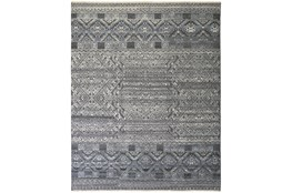 """7'8""""x9'8"""" Rug-Hand Knotted Wool Blue/Grey"""