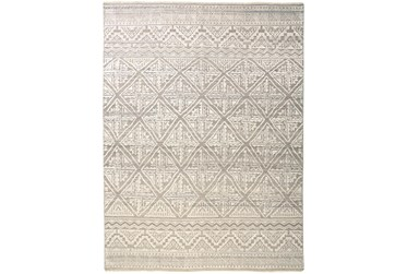 """3'5""""x5'5"""" Rug-Hand Knotted Wool Beige/Grey"""
