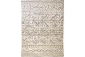 """9'5""""x13'5"""" Rug-Hand Knotted Wool Beige/Grey"""