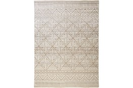 30X96 Rug-Hand Knotted Wool Beige/Grey