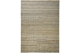 """5'5""""x8'5"""" Rug-Hand Knotted Wool Brown/Grey"""