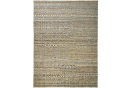 """7'8""""x9'8"""" Rug-Hand Knotted Wool Brown/Grey"""