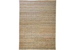 """8'5""""x11'5"""" Rug-Hand Knotted Wool Brown/Grey"""