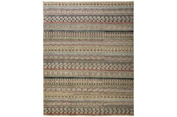"""7'8""""x9'8"""" Rug-Hand Knotted Wool Pink/Multi"""