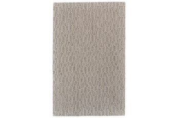 96X132 Rug-Tribal Arrows Ivory/Natural