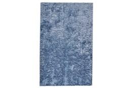 """4'7""""x7'5"""" Rug-Luxe Sheen Light Blue"""