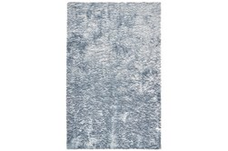 "7'5""x9'5"" Rug-Luxe Sheen Light Blue"