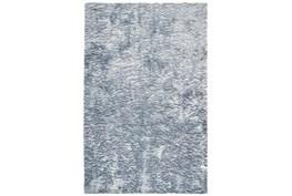 7'5x9'5 Rug-Luxe Sheen Light Blue