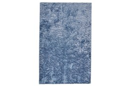 """2'5""""x6' Rug-Luxe Sheen Light Blue"""