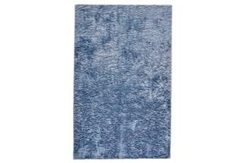 30X72 Rug-Luxe Sheen Light Blue