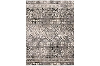 94X132 Rug-Alexander Charcoal/Ivory