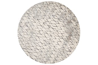105 Inch Round Rug-Alexander Sand/Charcoal