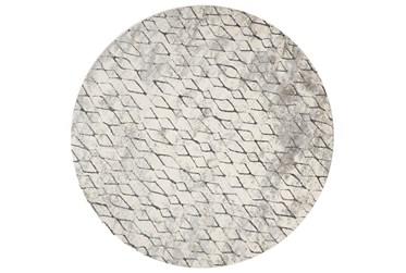 "8'7"" Round Rug-Alexander Sand/Charcoal"