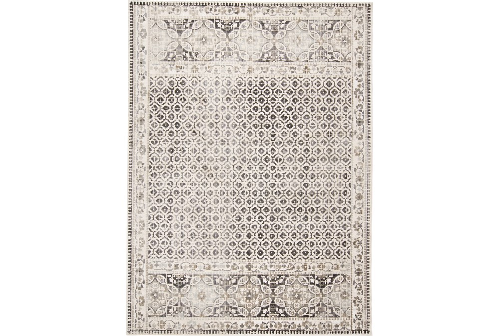 122X165 Rug-Alexander Grey/Ivory