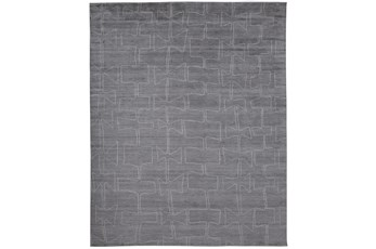 96X120 Rug-Taupe And Ivory Organic Tribal