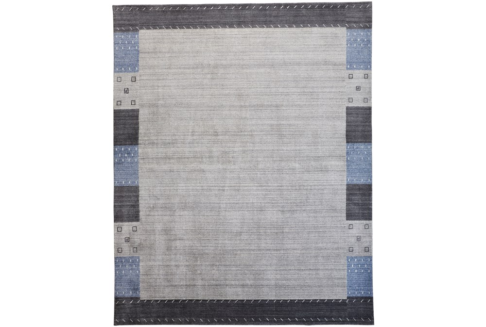 42X66 Rug-Gabbeh Grey/Blue