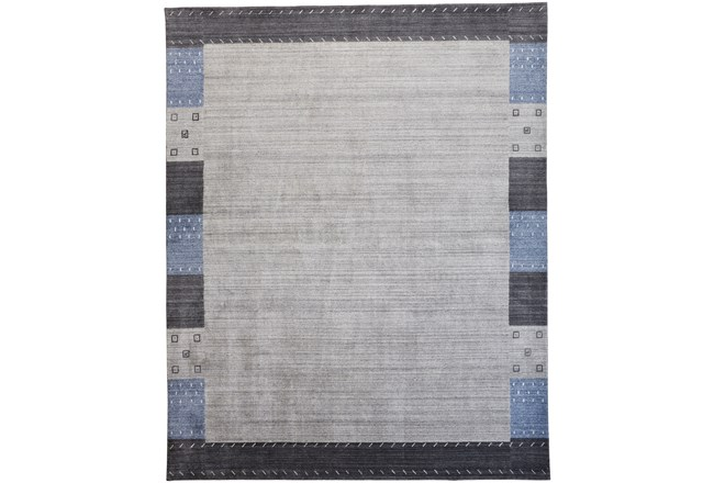 42X66 Rug-Gabbeh Grey/Blue - 360