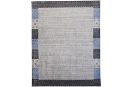 93X117 Rug-Gabbeh Grey/Blue