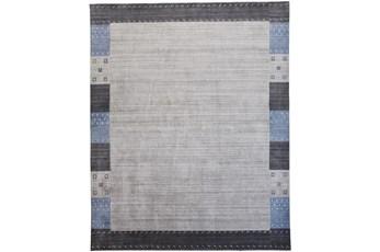 93X117 Rug-Gabbeh Grey/Blue
