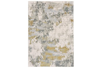 120X158 Rug-Birch Contemporary Gold