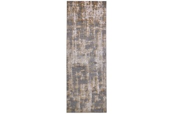 34X94 Rug-Sterling Contemporary Gold