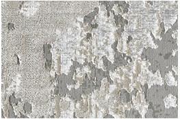 "10'x13'1"" Rug-Silver Metallic Abstract"