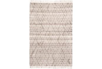 10'x14' Rug-Boho Flatweave Grey