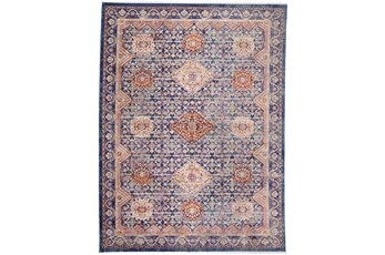 """7'7""""x9'6"""" Rug-Traditional Cora/Navy Multi"""