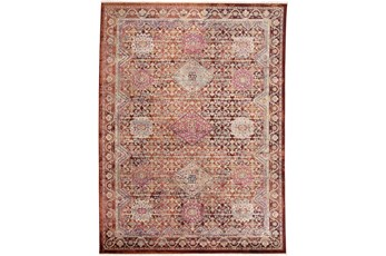 92X115 Rug-Traditional Cora/Rust Multi