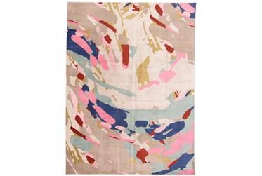 "3'5""x5'5"" Rug-Contemporary Cora/Pink Multi"