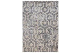 "10'x13'1"" Rug-Geometric Quatrefoil Beige/Grey"