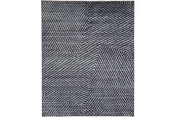 96X120 Rug-Art Deco Hand Knotted Grey