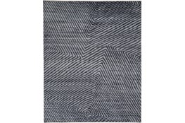5'x8' Rug-Art Deco Hand Knotted Grey