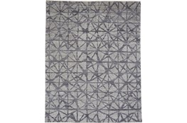 120X168 Rug-Art Deco Hand Knotted  Light Grey