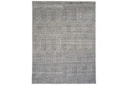 120X168 Rug-Art Deco Hand Knotted Beige