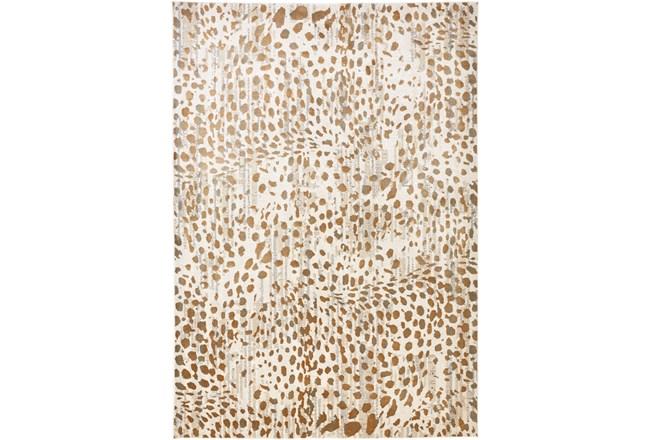 60X96 Rug-Leopard Skin Beige/Gold - 360