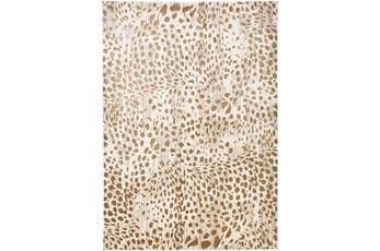 96X132 Rug-Leopard Skin Beige/Gold