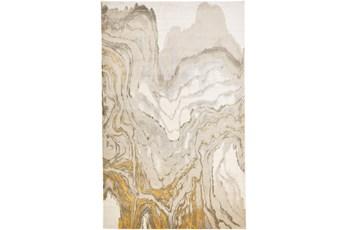 5'x8' Rug-Tidal Impressions Ivory/Gold