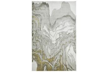 120X158 Rug-Tidal Impressions Ivory/Gold