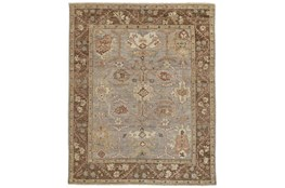 """7'8""""x9'8"""" Rug-Gramoy Hand Knotted Grey/Brown"""